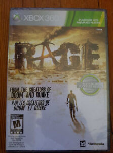RAGE Xbox 360 Game Brand New still in wrapping..