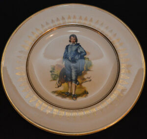 Wood And Sons collector plate
