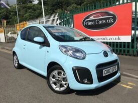 2013 (63 reg) Citroen C1 1.0 i VTR+ 3dr Petrol Low Miles Low Insurance FREE TAX