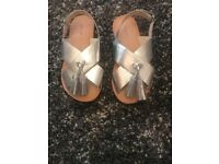 Girls Zara sandals - size 10