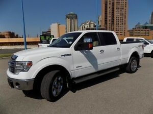 "2014 Ford F150 4x4 - Supercrew Lariat - 157"" WB"