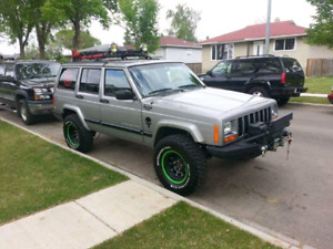 Lifted 2000 Jeep Cherokee XJ