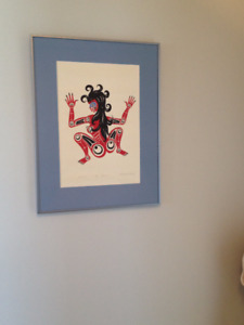 Fire Woman, Print, Francis Horne, Signed & Numbered,