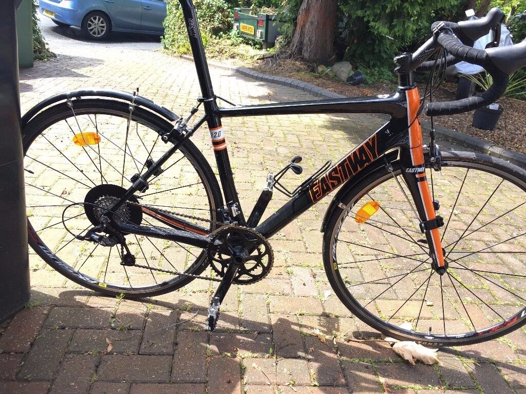 Carbon Road Bike Eastway R2.0 Excellent Condition Used 5x . Very ...