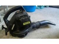Mcculloch petrol leaf blower