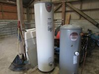 2x water heaters mega flo