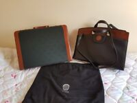 His and Hers Jaguar briefcases