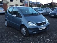 MERCEDES A CLASS 1.4 PETROL MANUL++LONG MOT++IDEAL FIRST CAR++P/X TO CLEAR