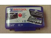 Britool Expert 1/2 socket set