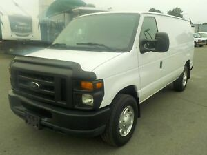 2010 Ford Econoline E-250 Cargo Van with Rear Shelving