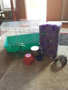Hamster/ Small Animal Cage and Starter kit