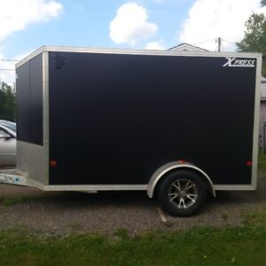 High country Xpress 6 X10 alluminum enclosed utility trailer