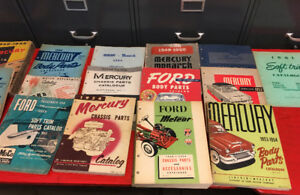 LARGE COLLECTION OF AUTOMOTIVE LITERATURE @ DUNDALK SWAPMEET