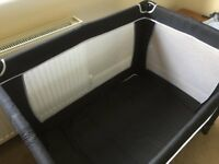 Red Kite Folding Travel Cot with Travel Bag excellent condition