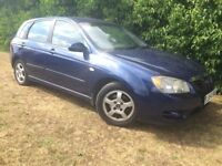 2005 KIA CERATO - MOT APRIL 2018 - NEW TYRES & BRAKES - COLD AIR CON