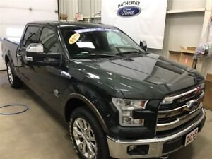 2015 Ford F-150 King Ranch - Comes with extended warranties