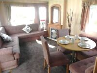 Starter static caravan for sale, Shanklin. Heated outdoor pool with flume!