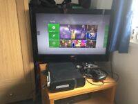 Xbox 360 Elite 120 GB with HDMI cable, wireless controller, wireless network adapter and power brick