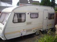 Avondale 5 berth caravan ready to go.