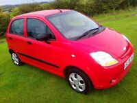 2008 CHEVROLET MATIZ, 800cc, MOT MAY 2018, LOW MILES
