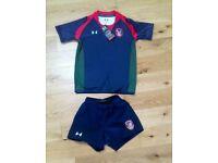 Coleraine Grammar school uniform sports rugby kit