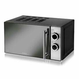 Tower 20 L 800W Countertop Microwave