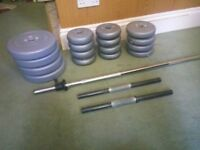 Barbell and dumbbell