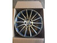 "Brand new set of 18"" Alloy wheels Mercedes ."
