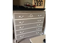 Really lovely drawers that can be used in any part of the house for extra storage.