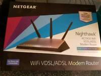 BNIB Nighthawk AC1900 modem router