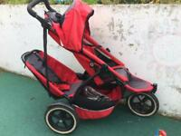 Double Phil&Teds sport buggy