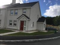 For Rent New Build 3 Bed House