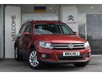 2014 Volkswagen Tiguan 2.0 TDi BlueMotion Tech Match 5 door [2WD] Diesel Estate