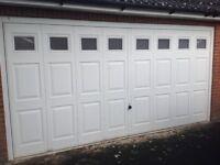 Automatic Double Garage Door