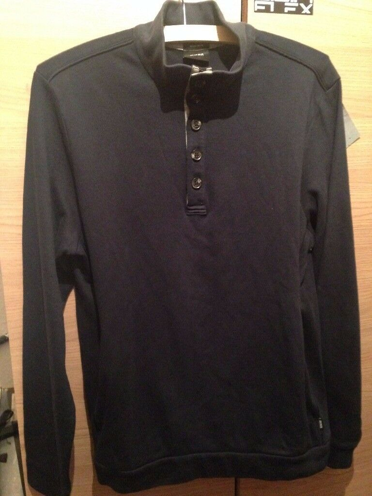 Hugo Boss Long Sleeve Polo - Pacentro 29 - Size L