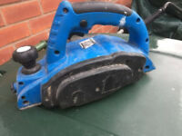 Silverline Electric Planer. 240v. Bought on Amazon for 1 job only. Excellent condition