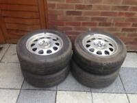 BMW alloys ,5 stud 20560r15 91h