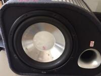 Fli sub woofer with built in 250w amp