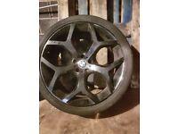 22 inch black venom wheels