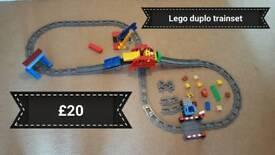 Lego duplo trainset