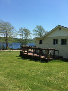 Cozy Lochaber Lake, Lakeside Cottage Rental.  Antigonish Co, NS