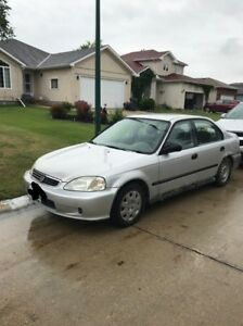 1999 Honda Civic Lx - 900$ OBO - Selling as is, MUST GO!