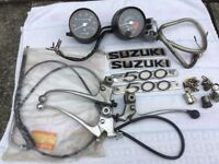 SUZUKI MOTORCYCLE PARTS FOR SALE