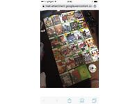 Xbox 360 250gb with 30 games