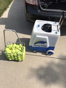 Tennis ball machine for rent