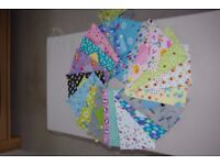 Handmade Fabric Baby Wipes Cover