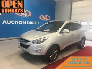 2014 Hyundai Tucson GLS HUGE SUNROOF! LEATHER! FINANCE NOW!
