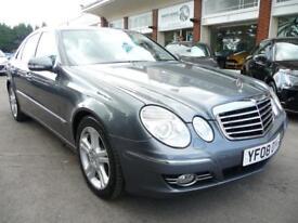 MERCEDES-BENZ E CLASS 3.0 E280 CDI AVANTGARDE 4d AUTO 187 BHP (grey) 2008