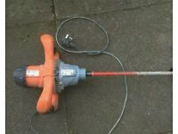 Rubimix 9 BL paddle plaster mixer 240v