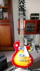Encore Sunburst Guitar